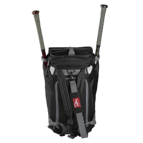 Rawlings – Hybrid Backpack/Duffel Players Bag 2 Bats
